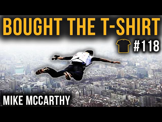 Empire State Base Jump | Mike McCarthy | 565 RLD Para Sigs | Falklands | Bought The T-Shirt #118