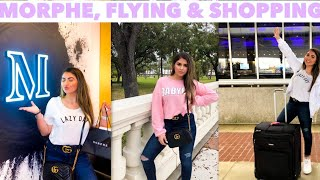 FLYING ALONE + TAMPA MORPHE STORE! (shopping, haul & more)