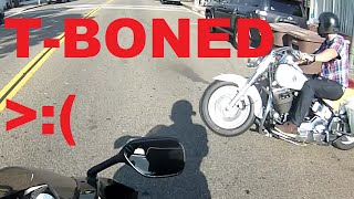 CRUISER HITS SPORT BIKE (Full Video)