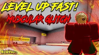 HOW TO GLITCH MUSCULAR BOSS AND LEVEL UP FAST!?| BOKU NO ROBLOX REMASTERED!? | ROBLOX |