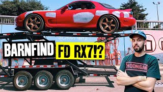 Saving an FD RX-7 from 12 years in a garage!