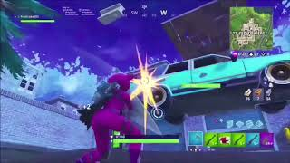 GAME BREAKING UNDER THE MAP GLITCH AT TILTED TOWERS ON FORTNITE