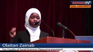 Watch UNILAG Students Debate How 2015 Election Will