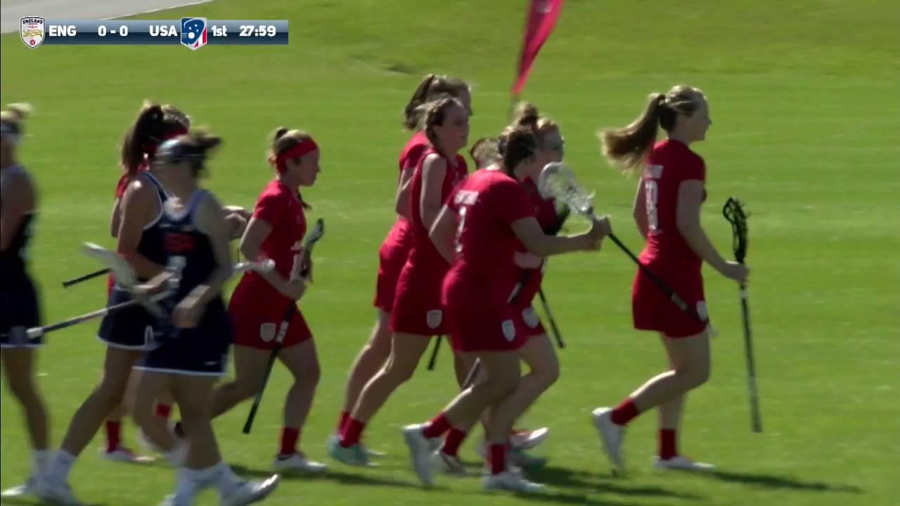 England Lacrosse vs USA Lacrosse - YouTube