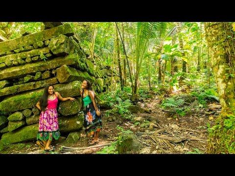 [ 4K Ultra HD ]世界遺産「ナン・マドール遺跡」World Heritage Site 'Nan Madol'  in Micronesia