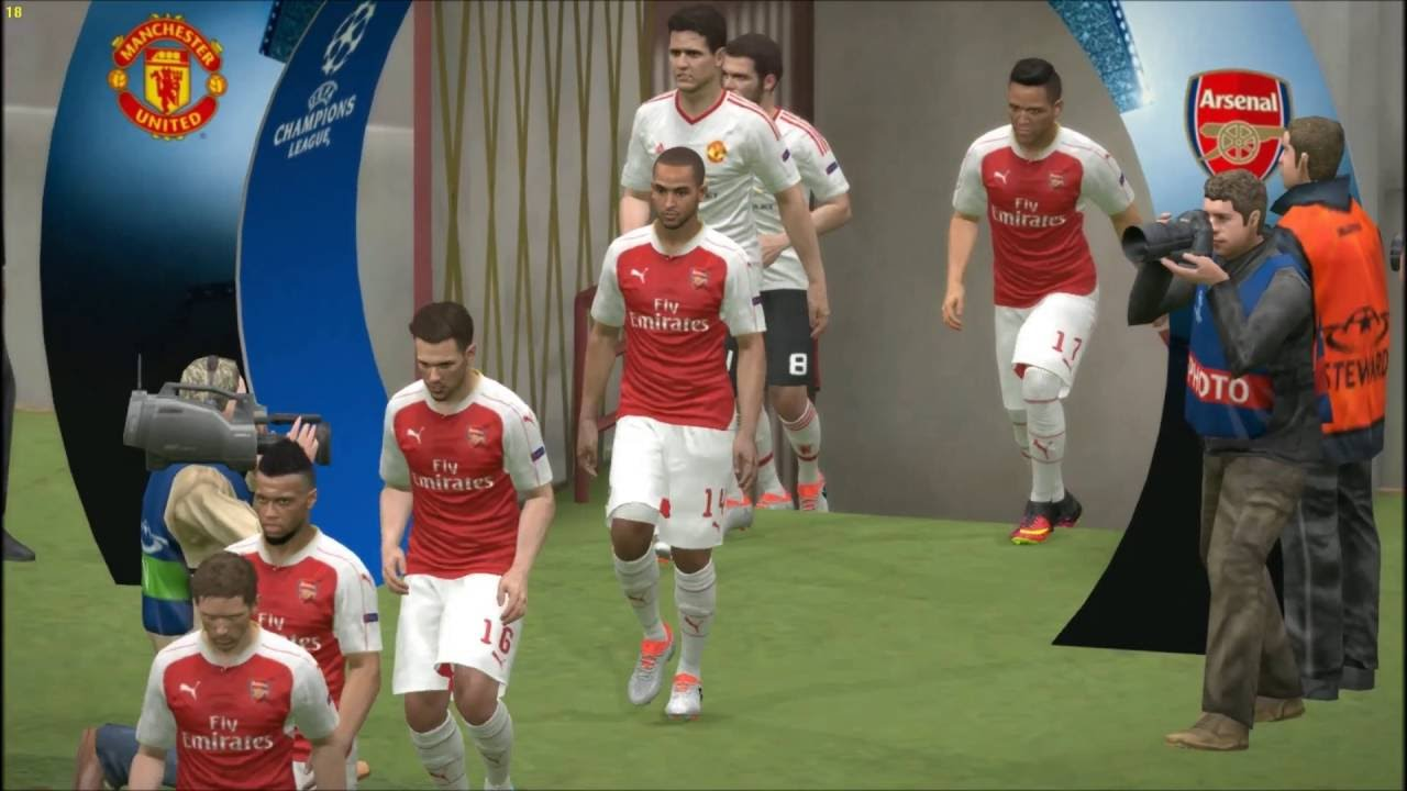Gua Kalah Konyol Arsenal Vs Man United UEFA Champions League Match