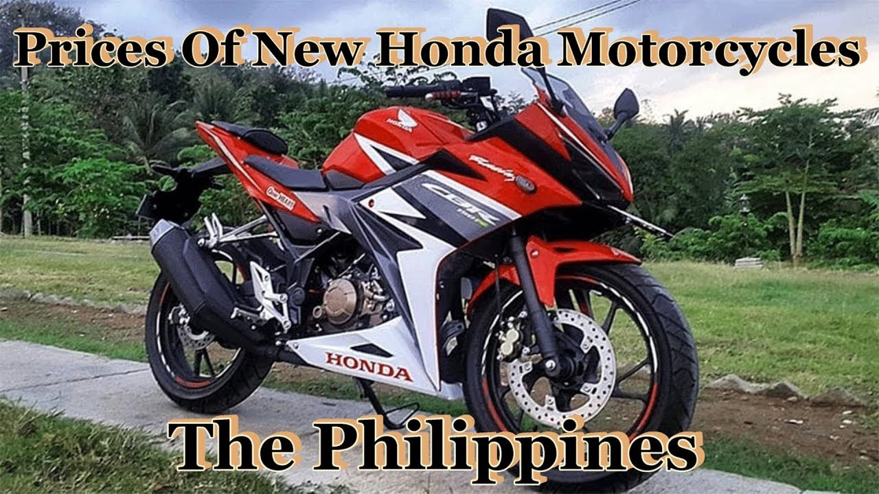Prices Of New Honda Motorcycles & Electric Bikes In The ...