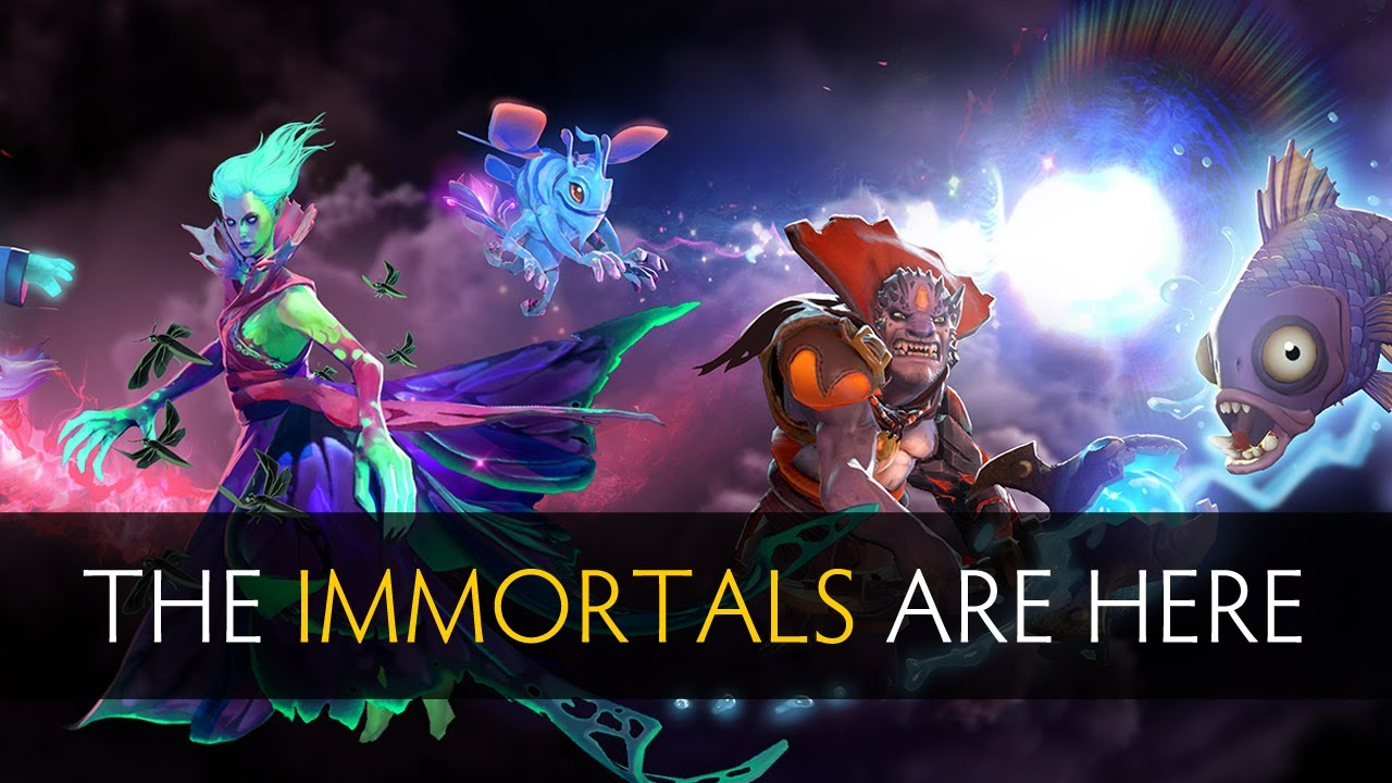 Dota 2 Immortal 14: The Immortals Are Here