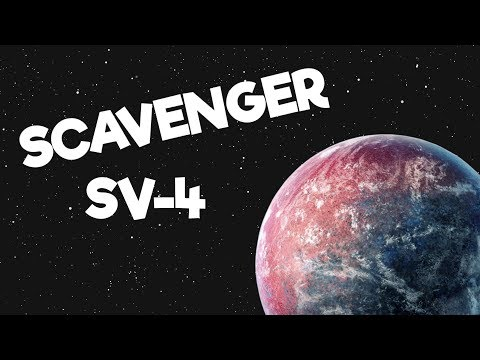 Scavenger SV-4 Gameplay Impressions #2 - The Mysterious Artifact!