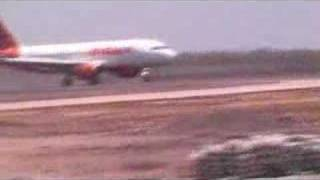 First Official Flight to Surat Airport
