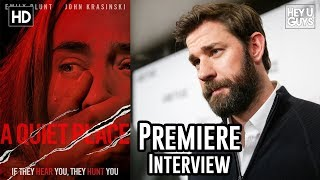 John Krasinski on finding the heart in the horror of A Quiet Place - Premiere Interview