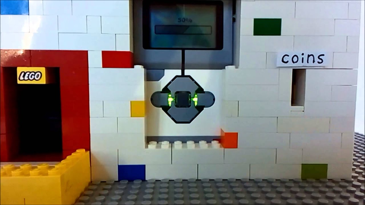 Lego Mindstorms Ev3 Candy Machine Youtube