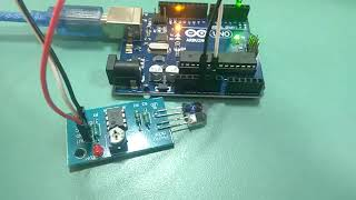 Sensor interfacing - IR Sensor Obstacle Counter