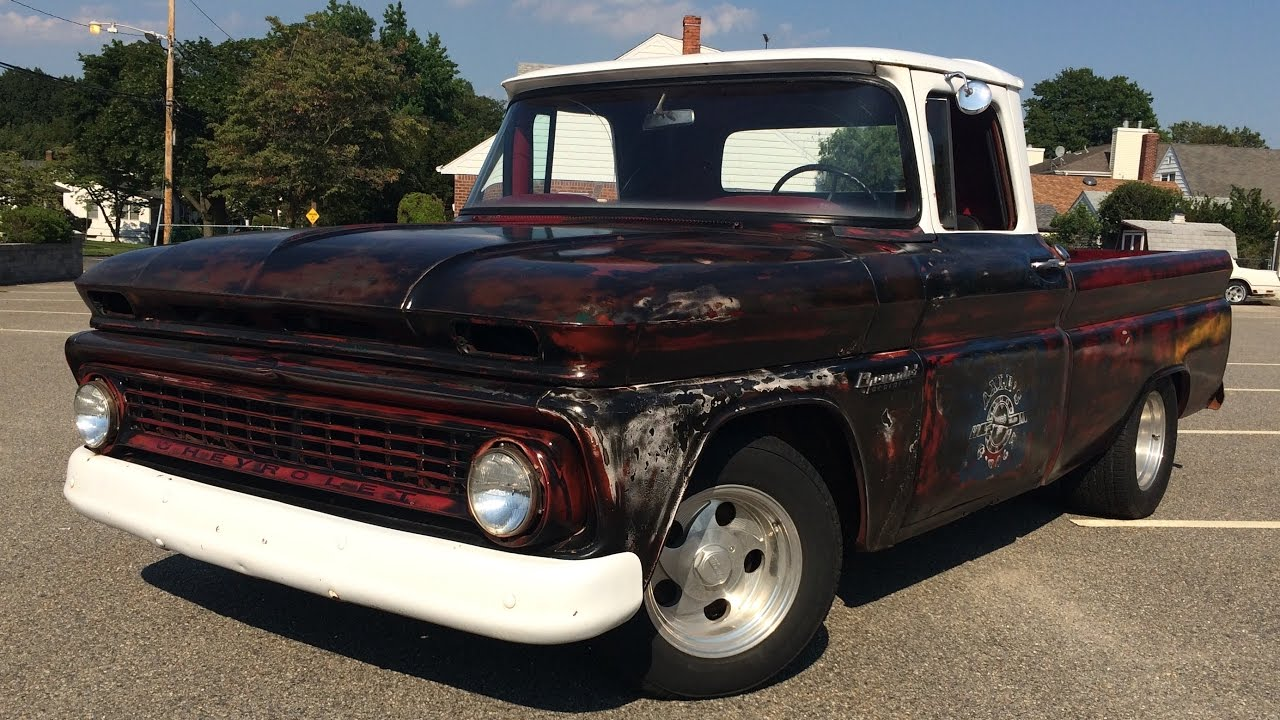 All Chevy chevy c10 craigslist : 1963 Chevy C10 Shortbed Pickup Rat Rod - FOR SALE - YouTube