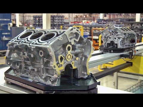 Pentastar V6 Engine Factory (2017)