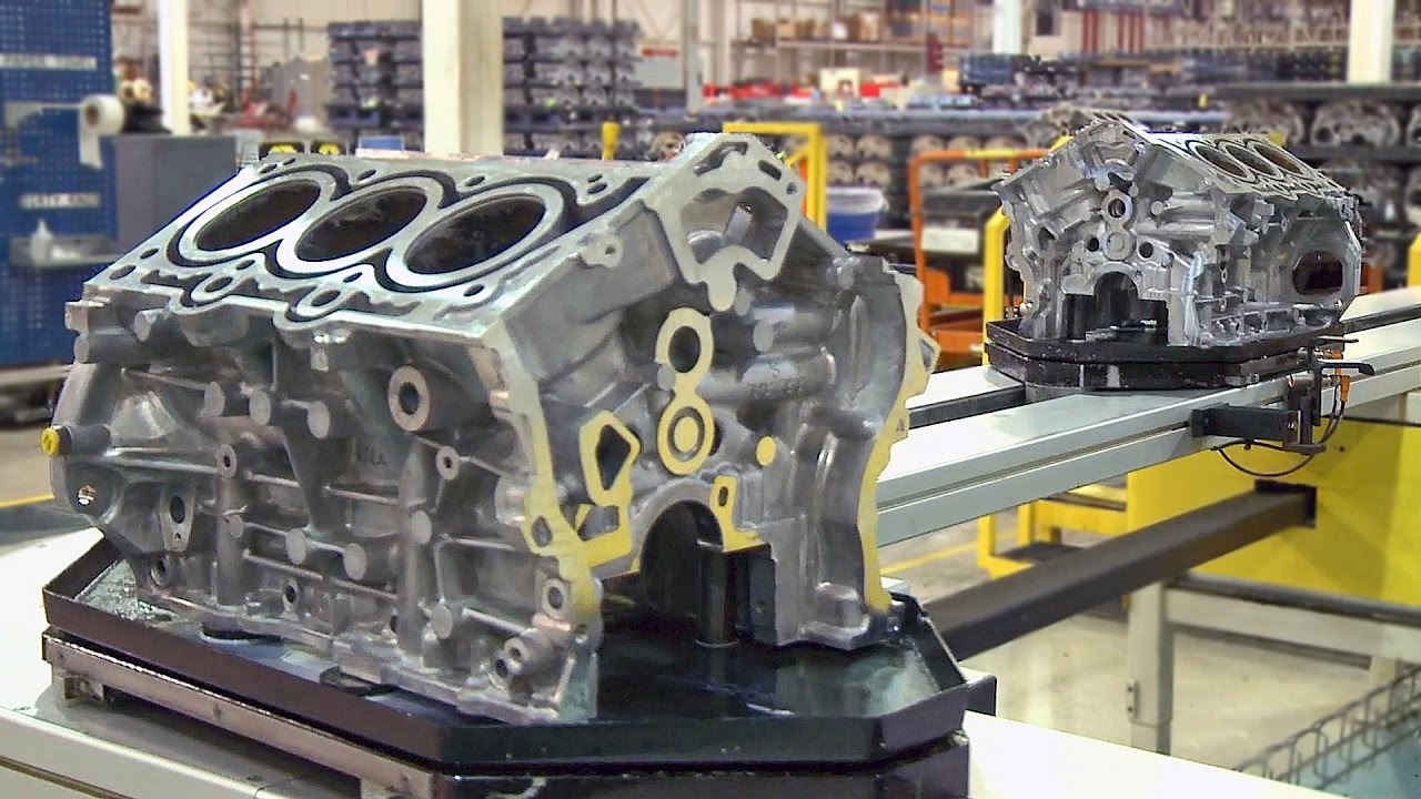 Pentastar V6 Engine Factory 2017 Youtube 5 9 Liter Dodge Diagram
