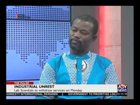 Industrial Unrest - The Pulse on Joy News (18-8-16)