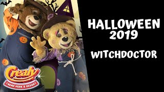Buddy and Blossom | Witchdoctor | Crealy Theme Park | 2019 | Halloween