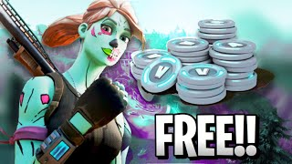 HOW TO GET FREE VBUCKS IN FORTNITE BATTLE ROYALE!! *NOT CLICKBAIT* (FREE)