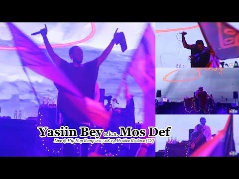 Yasiin Bey a.k.a. Mos Def • Live @ Hip Hop Kemp 2017.08.19, Hradec Kralove [CZ] #HHK2017