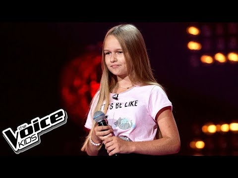 Hanna Lasota - 'Perfect Strangers' - Przesłuchania w ciemno - The Voice Kids 2 Poland