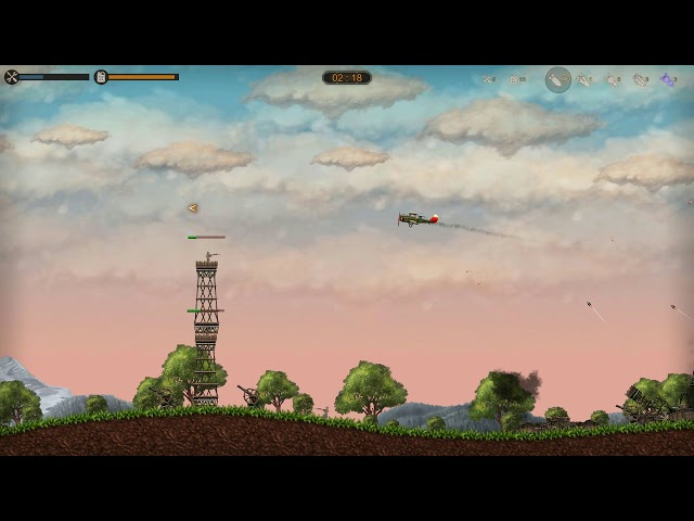 Aircraft Evolution PC gameplay - WW1 era bombing mission