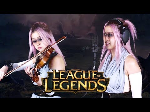 Awaken - League Of Legends (Violin & Voice)