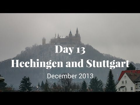 Day 13 Hechingen and Stuttgart - Europe 2013 Holiday