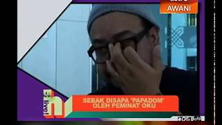 Afdlin Shauki sebak disapa