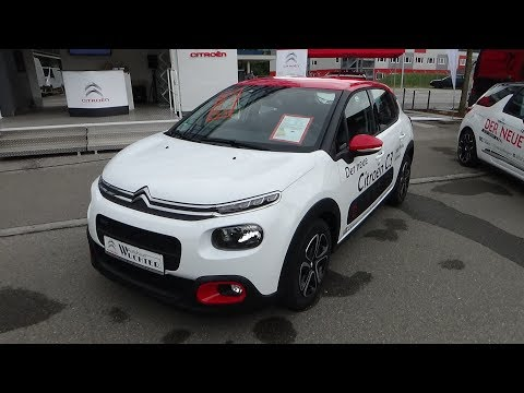 2017 Citroen C3 PureTech 82 Shine - Exterior and Interior - autoMobil Tübingen 2017