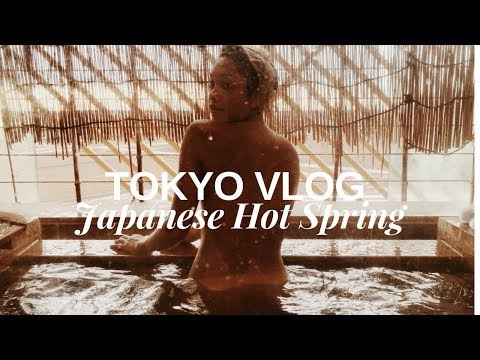 TOKYO VLOG - Our Private Onsen (Japanese Hot Spring) | HellaJam