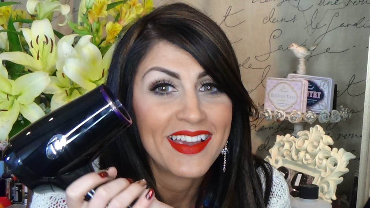 T3 Folding Compact Hair Dryer Review YouTube