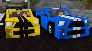 Minecraft : CORRIDA DE CARROS !! - The Sims Craft Ep.219