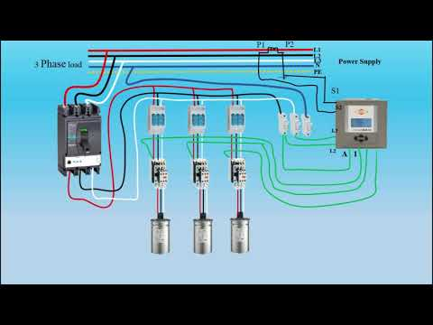 How to wire power factor correction panel | By Tech Bondhon - YouTubeYouTube