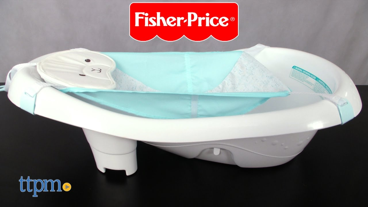 Comfy Cloud Calming Vibrations Tub from Fisher-Price - YouTube