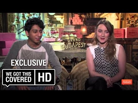 The Grand Budapest Hotel Interview With Willem Dafoe, Jeff Goldblum, Saoirse Ronan And More [HD]