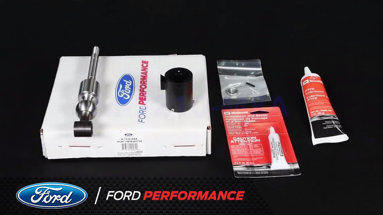 How to install mustang shelby gt350 short throw shifter kit performance parts ford performance