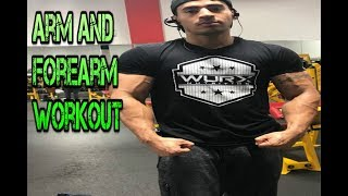 Arm and Forearm Workout For Mass Gain 2018