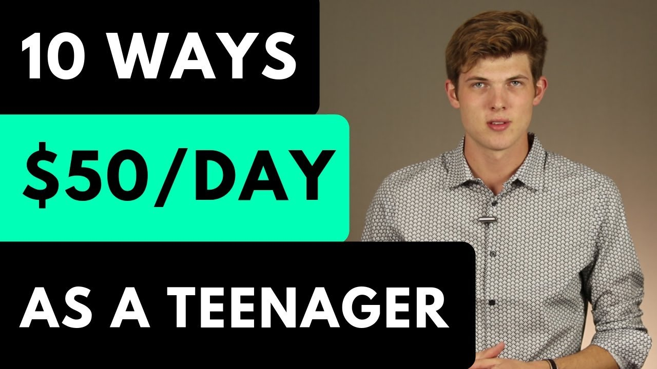 10 Legit Ways To Make Money As a Teenager [In 2019]