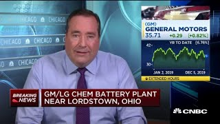 GM to invest up to $2.3 billion in battery plant joint venture with LG Chem