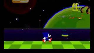 Sonic X-treme pitch demo with sound effects