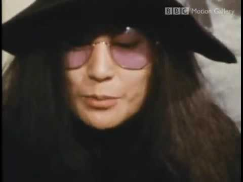 John Lennon & Yoko Ono Interview with Marshall McLuhan   part 1