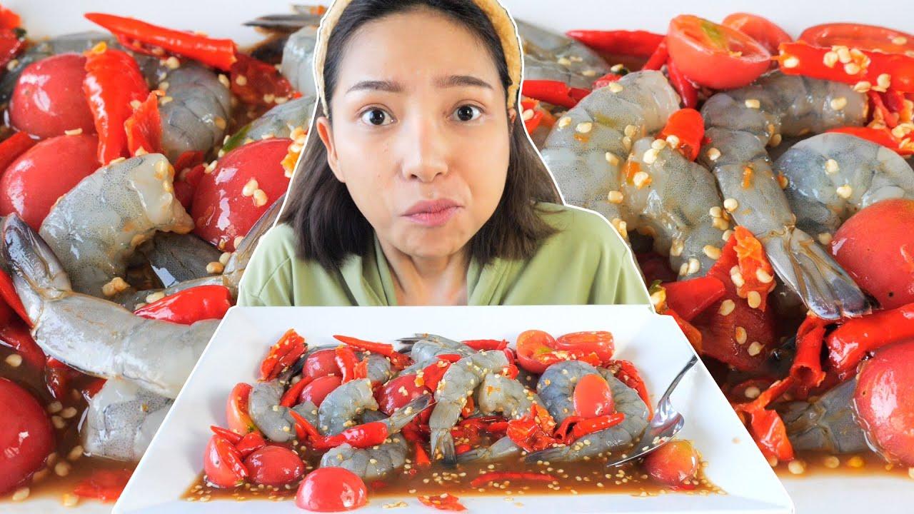 หอยโจงโดงหรือหอยโข่งทะเล ลองกินครั้งแรก เอามาลองลวกจิ้มซีฟู้ด - YouTube