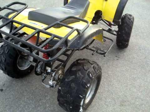 Yamoto Buyang 110cc Quad Walk Around