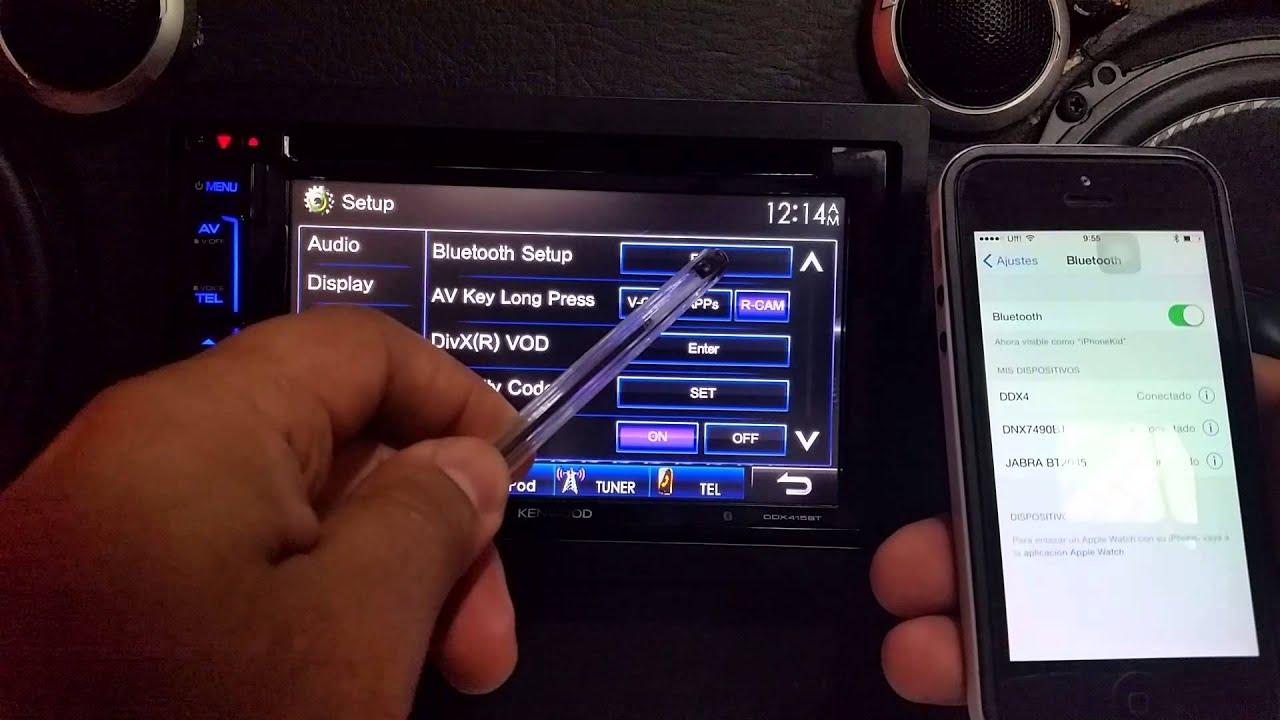 KENWOOD DNN9710BT Multimedia Receiver Download Drivers