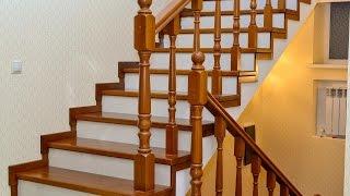Облицовка бетонной лестницы деревом и керамикой(, 2015-11-07T21:22:26.000Z)