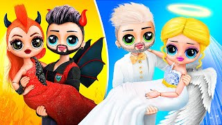 Angel vs Demon / 10 DIY LOL Surprise Wedding Ideas