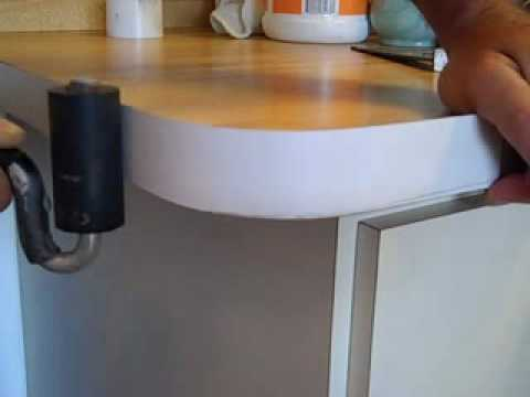 How To Bend Formica On Countertop Radius Youtube