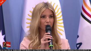 Ivanka Trump Attends Woman Entrepreneurship Panel to Talk About American Women in Business
