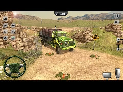 US Army Secret Stealth Truck Transport Missions - by Zappy Studios | Android Gameplay |